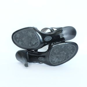 Sofft Shoes - Sofft Patent Leather Sandals sz 8 Heels Black